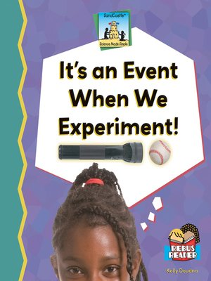 cover image of It's an Event When We Experiment!